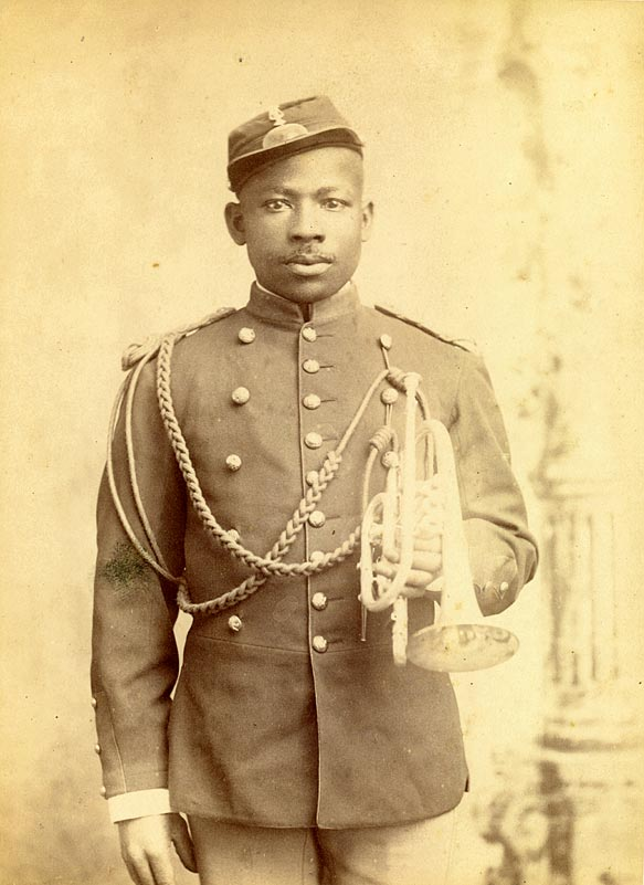 Band member, 9th Cavalry, probably Ft. Robinson, NE [RG1517.PH000093-000030]