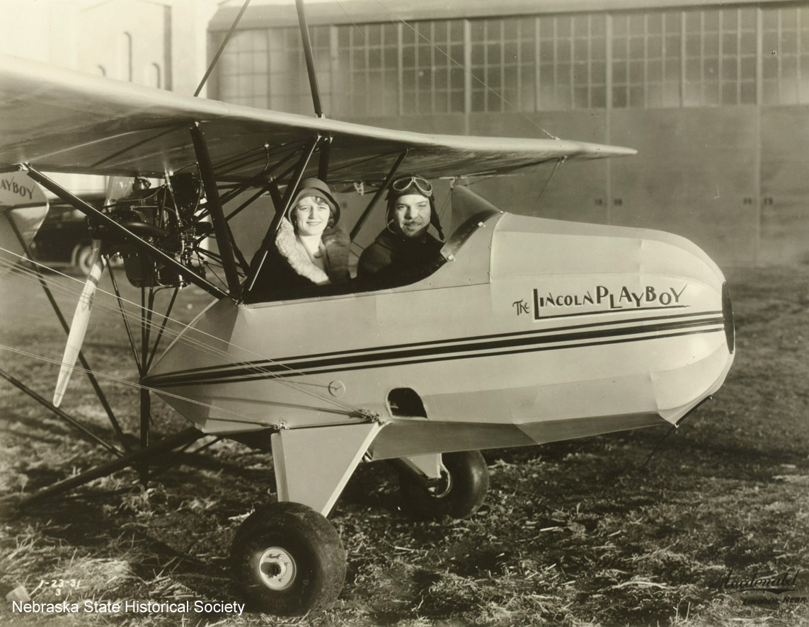 The Lincoln Playboy airplane, January 23, 1931 [RG2929.PH304]