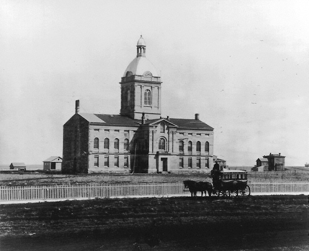 Image of Nebraska's first capitol