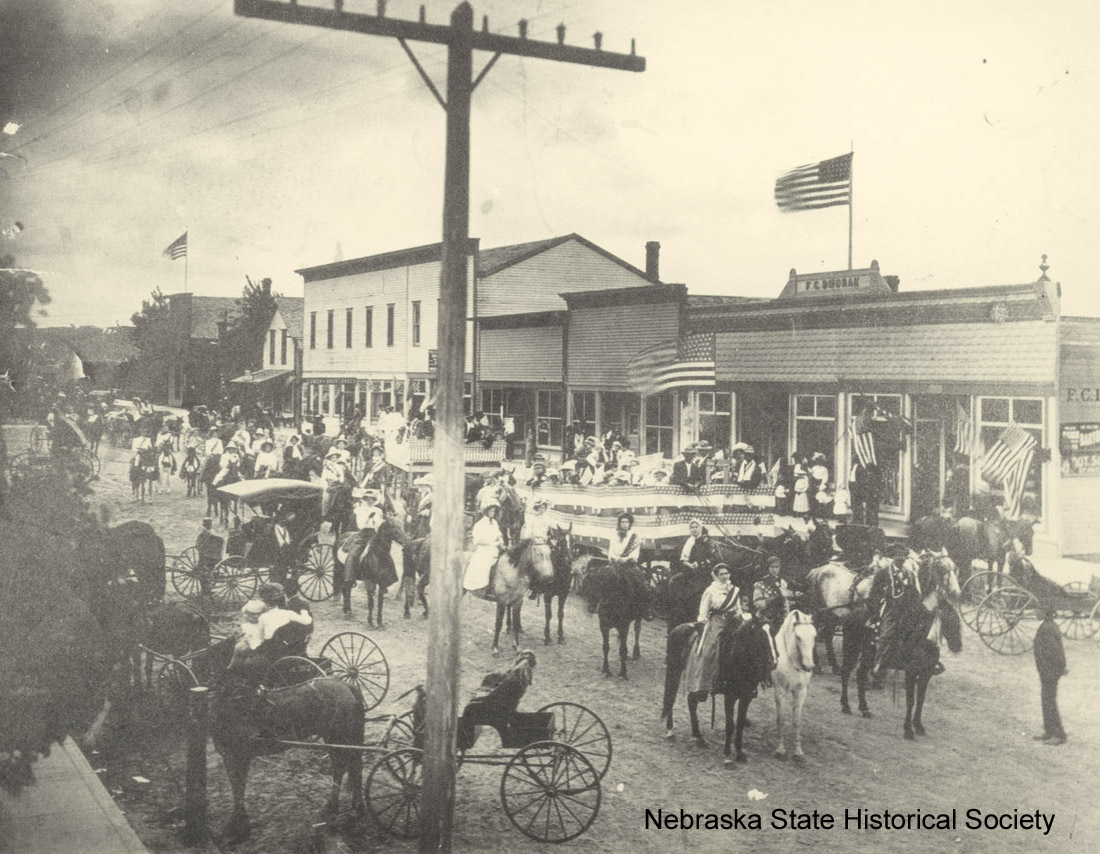 Decoration Day in Comstock, NE, ca. 1910 [RG3335.PH000006-000012 ]