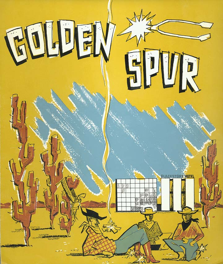 Golden Spur menu (loaned from Douglas County Historical Society)