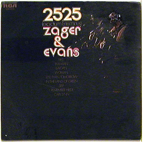 Record album, The Year 2525, Zager & Evans