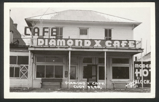 Diamond X Café in Cody, Cherry County, Nebraska [RG0802.PH:13-4]