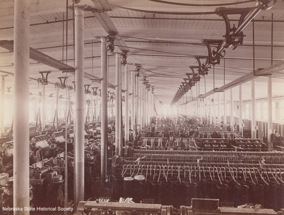 Kearney Cotton Mill, interior (RG2178.PH0-000032)