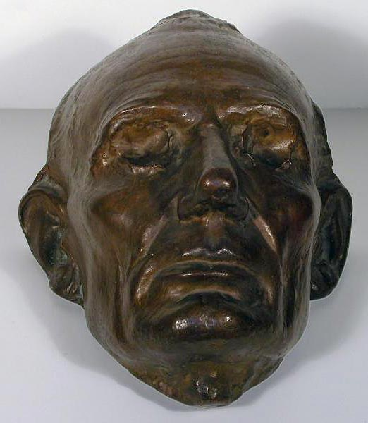 Abraham Lincoln life mask (7701-17)