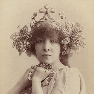 Sarah Bernhardt at age 53, in 1897