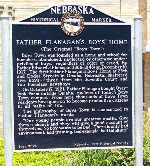 Boys Town Marker