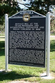 Buffalo Bill Historical Marker
