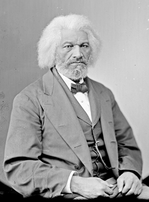 Frederick Douglass. Library of Congress Prints & Photographs Division.