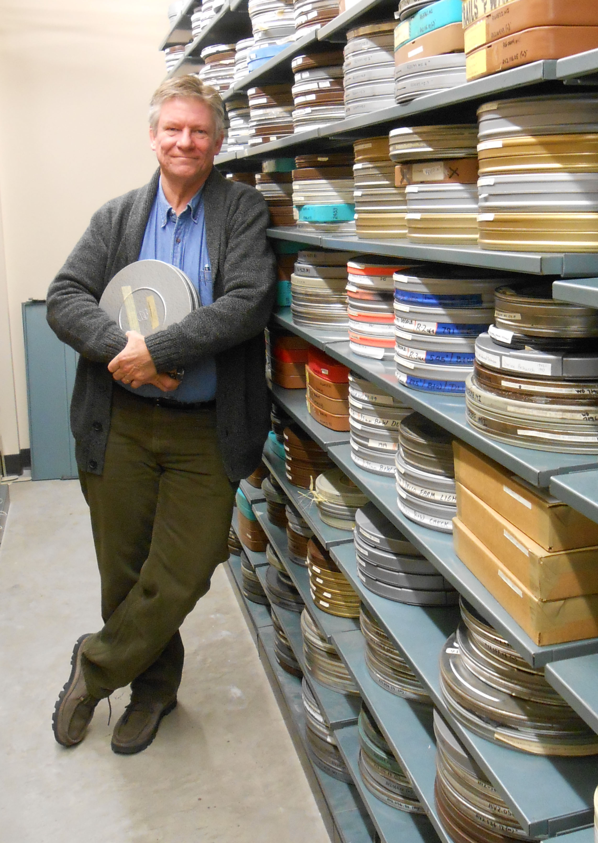 Paul Eisloeffel in AV stacks