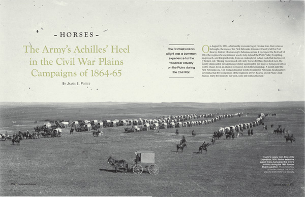 Army's Achilles' Heel in the Civil War Plains Campaigns article from Nebraska History Magazine