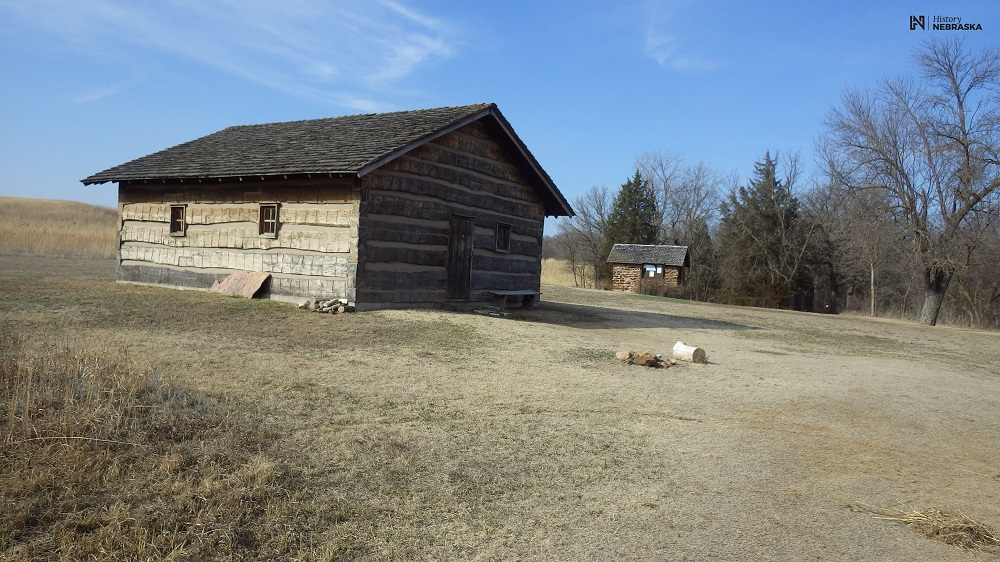 Reconstructed Buildings at the West Ranch