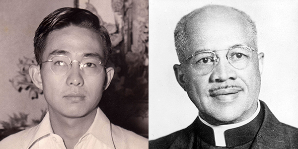 Jesse Ishikawa and Rev. Trago T. McWilliams