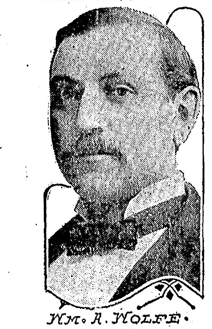 Image of Wm. A. Wolfe from the Omaha World Herald, Sept. 5, 1920.