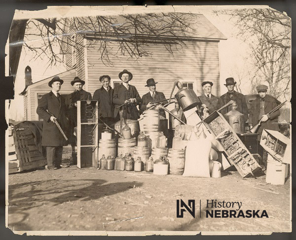 New Year's Eve in the 1920s saw Nebraskans unable to legally include alcohol in their celebrations
