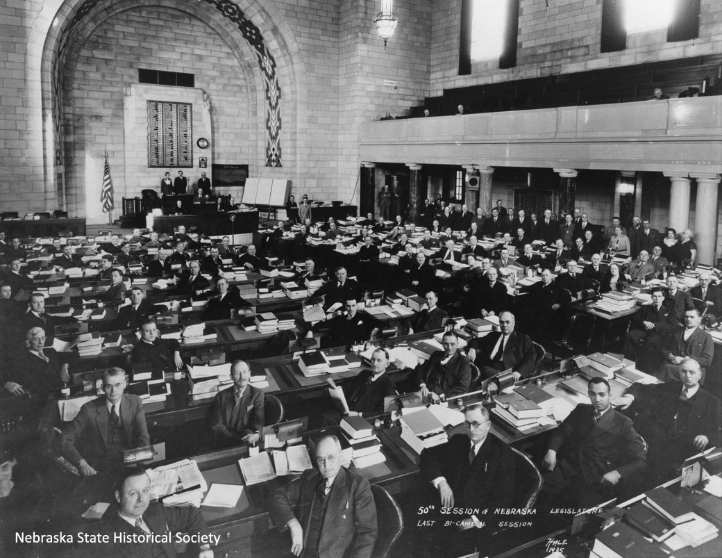 50th and last bi-cameral Nebraska Legislature, 1935 (RG2141.PH000041-000004)