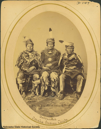 Omaha Indian Chiefs, 1866