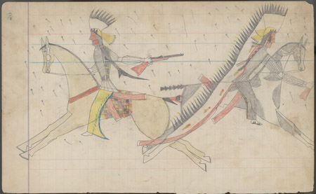 Keeling Indian Ledger Art