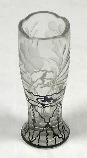 Small glass flower vase 7144-146