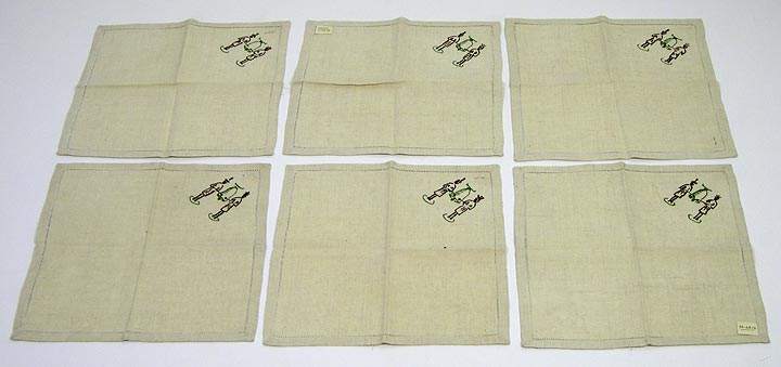 Napkins set of 6 7144-99