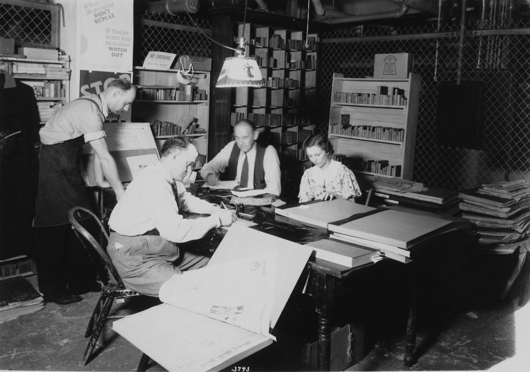 WPA project at Nebraska State Historical Society, 1938 [RG0014.PH000004-000003]