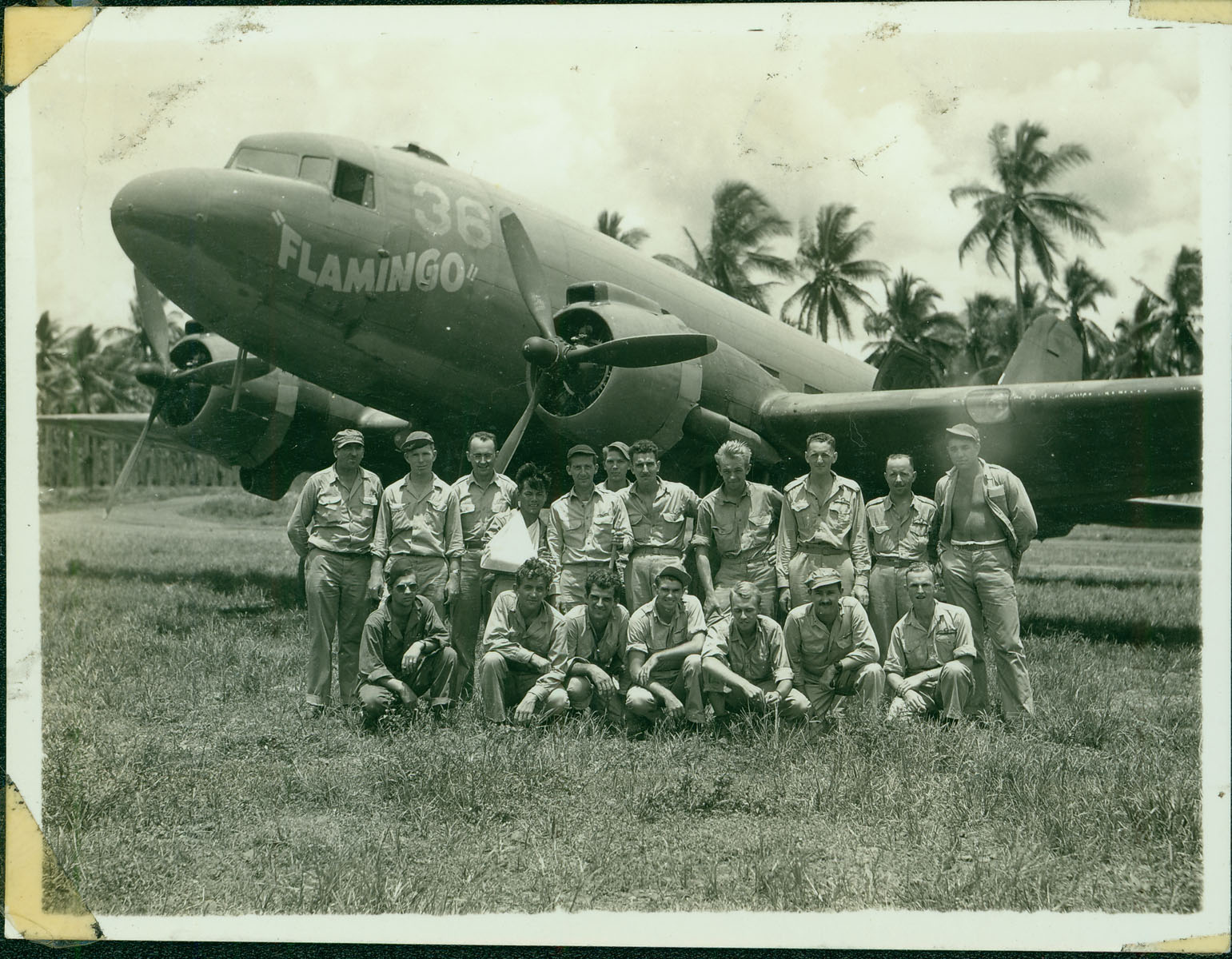 Rescue team with plane [RG5841-2-10]
