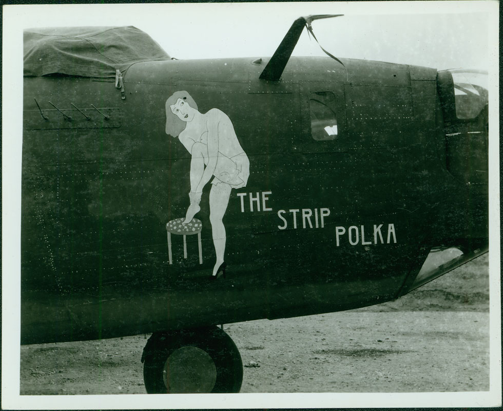 The Strip Polka (Serial number: 42-40970) [RG5841-3-51]