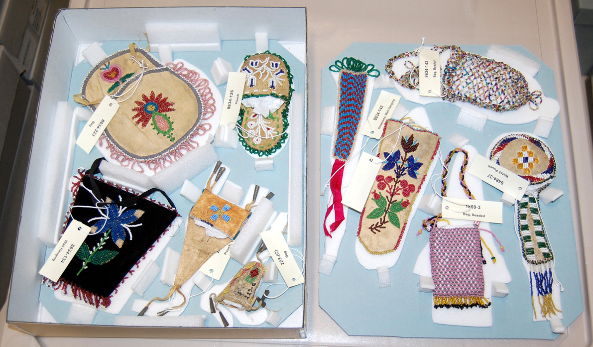 Support Trays for Ethnographic Collections