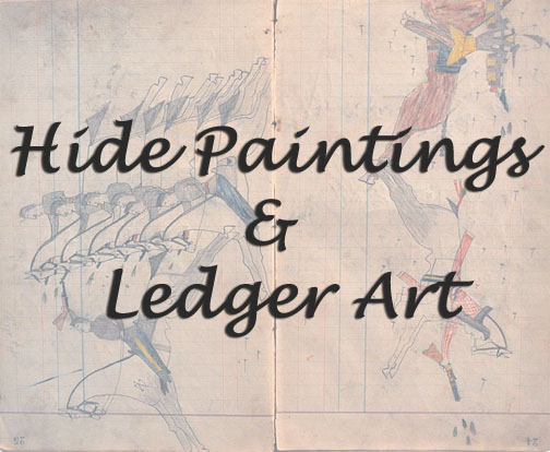 Hide Painting & Ledger Art title