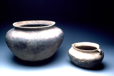 Photograph of old pottery