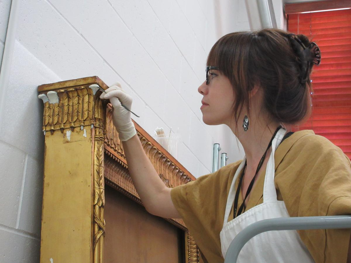 Rebecca Cashman, Objects Conservator