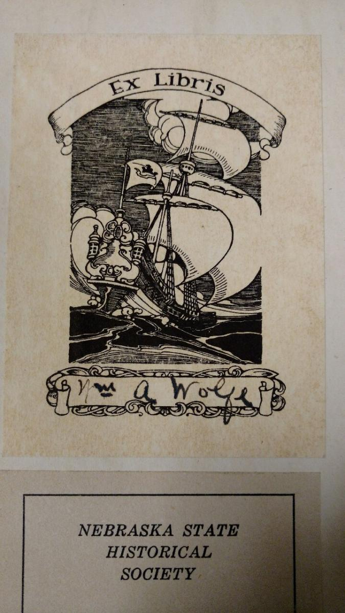 Wm. A. Wolfe bookplate