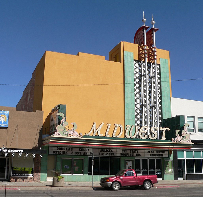 Image of the Midwest Theater in Scottsbluff