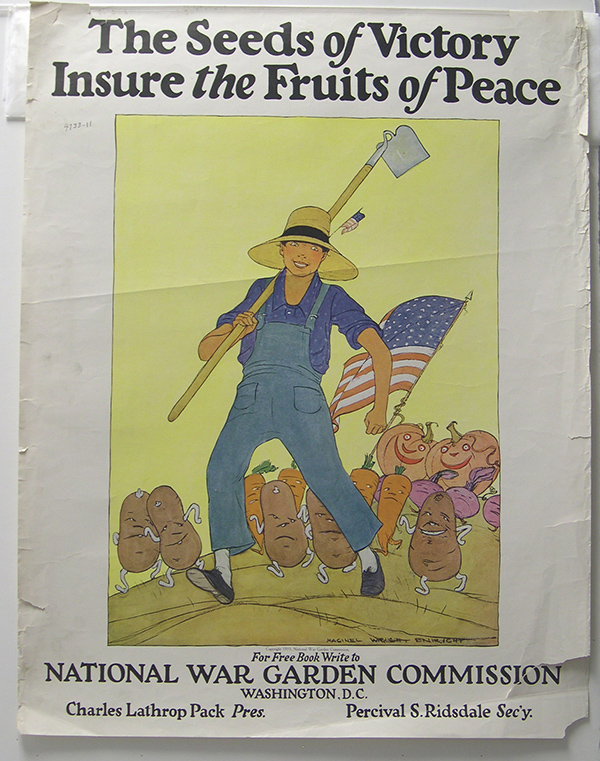 """The Seeds of Victory Insure the Fruits of Peace"" poster"