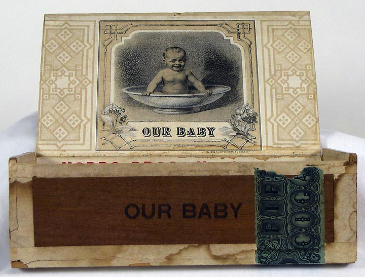 Our Baby Cigar Box, interior (13053-17)