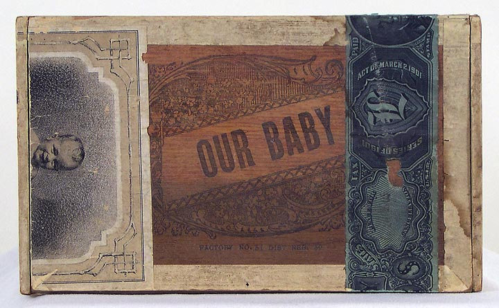 Our Baby Cigar Box (13053-17)