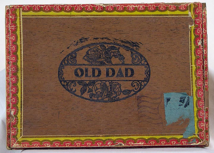 Old Dad Cigar Box (13053-22)