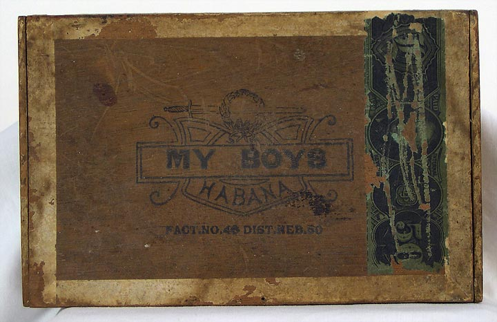 My Boys Cigar Box (13053-31)