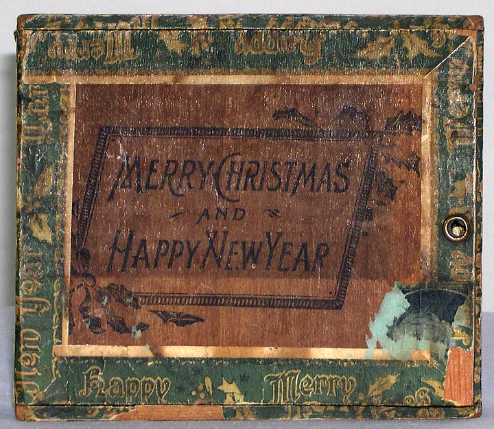 Merry Christmas and Happy New Year Cigar Box (13053-33)