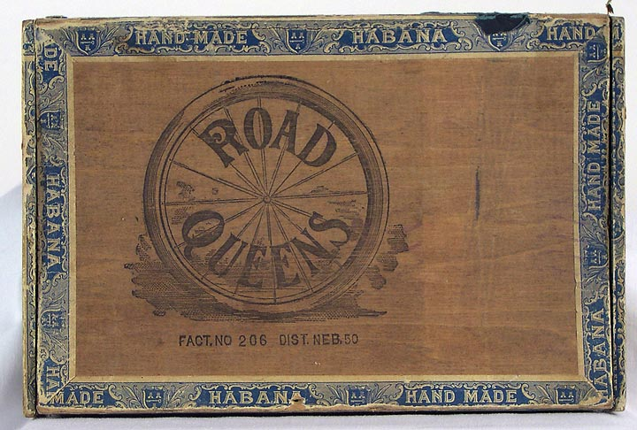 Road Queens Cigar box (13053-4)