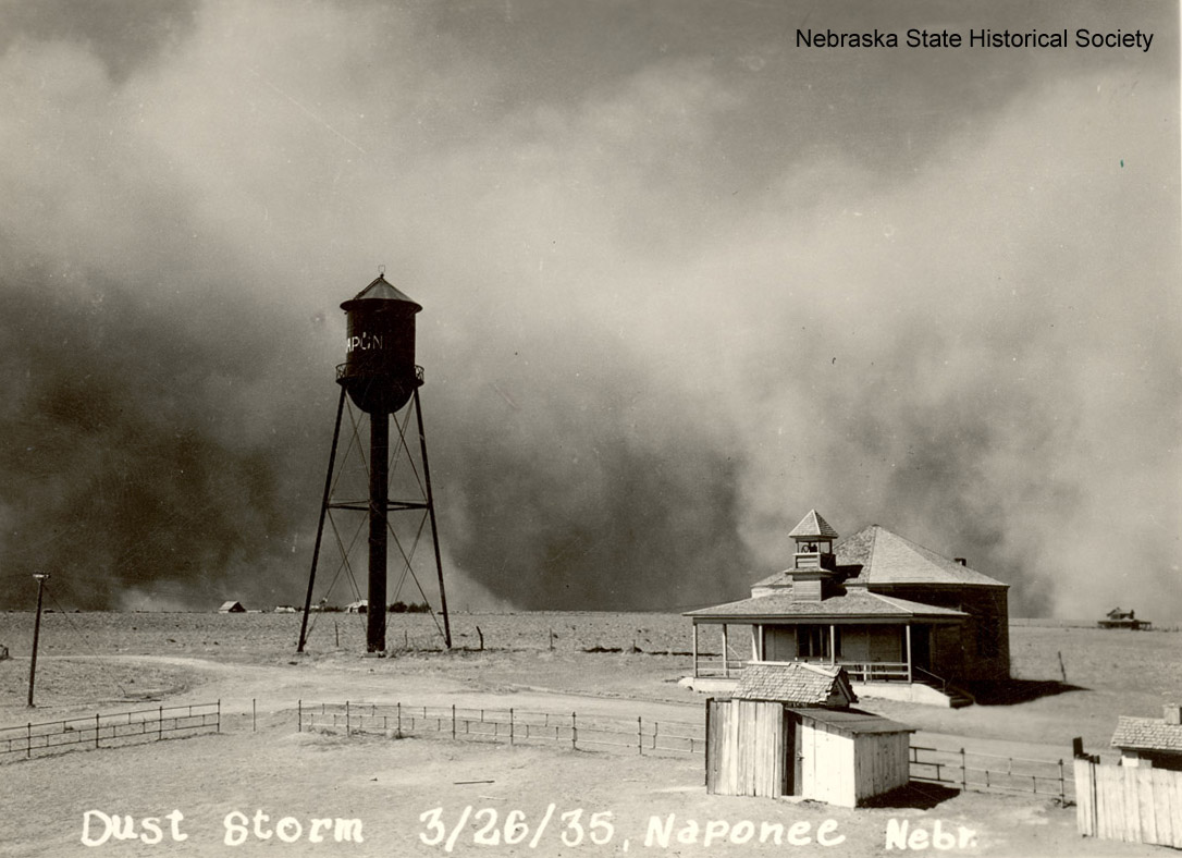 A dust storm at Naponee, NE [RG3349.PH0-000013]