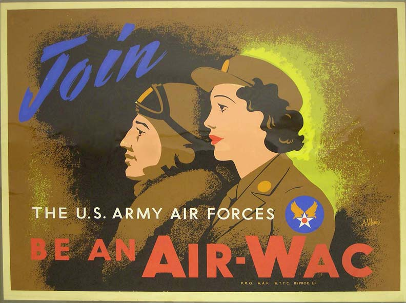 Air-Wac WWII poster [4541-347]