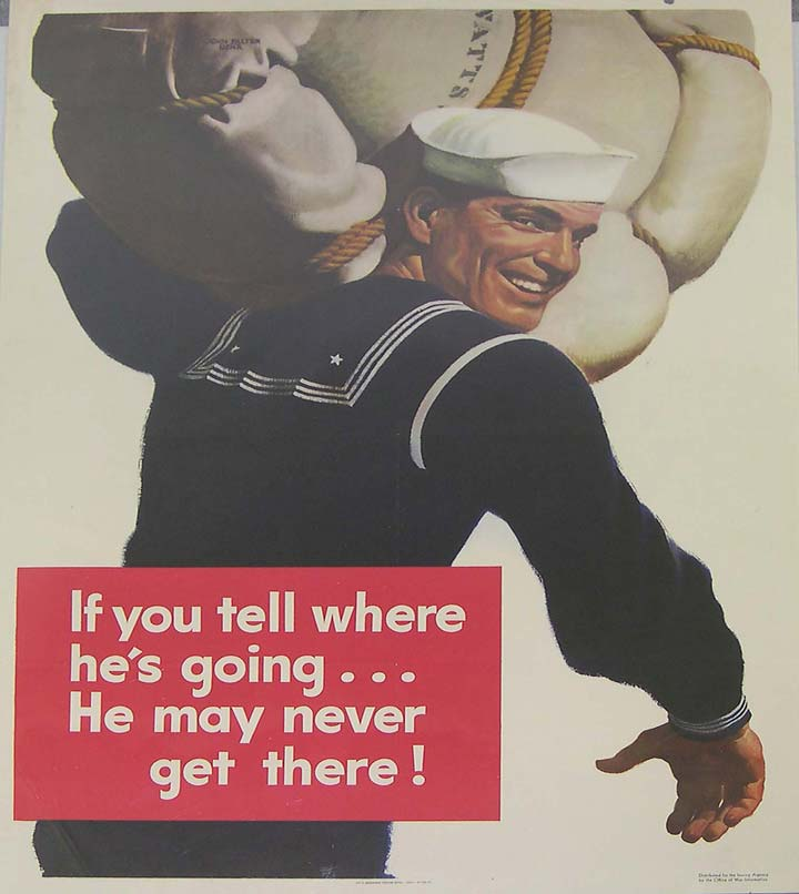Navy WWII poster [4541-526]