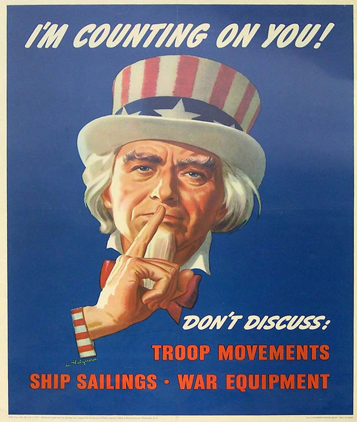Uncle Sam WWII poster [4541-362]