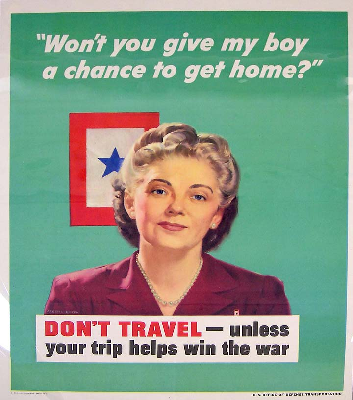 Give my boy a chance WWII poster [4541-535]