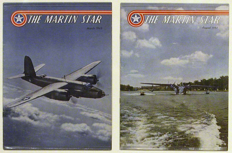 """Martin Star"" magazines from 1943 & 1945 (NSHS 11055-1311, 1313)"