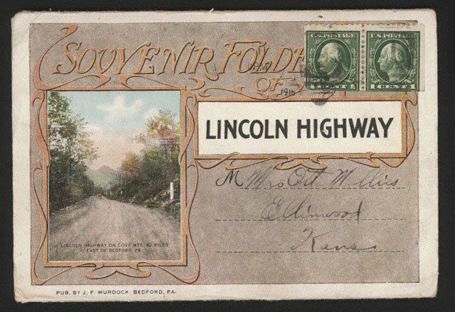 Souvenir postcard from Lincoln Highway [RG0802.PH121-27]