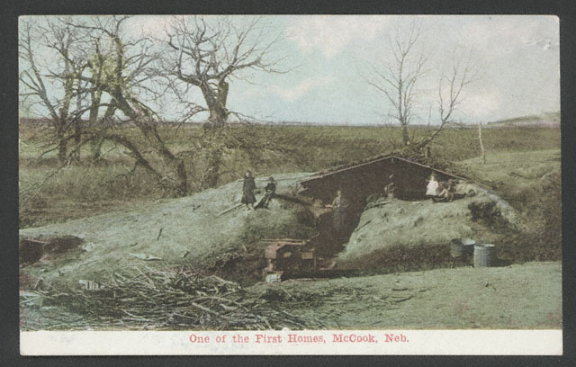 """One of the First Homes, McCook, Neb.""  [RG0802.PH]"