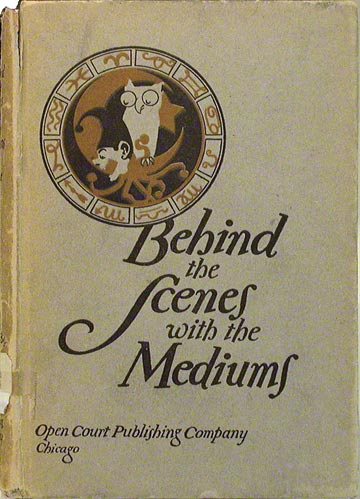 Behind the Scenes with the Medium (NSHS Library 133/Ab2b)