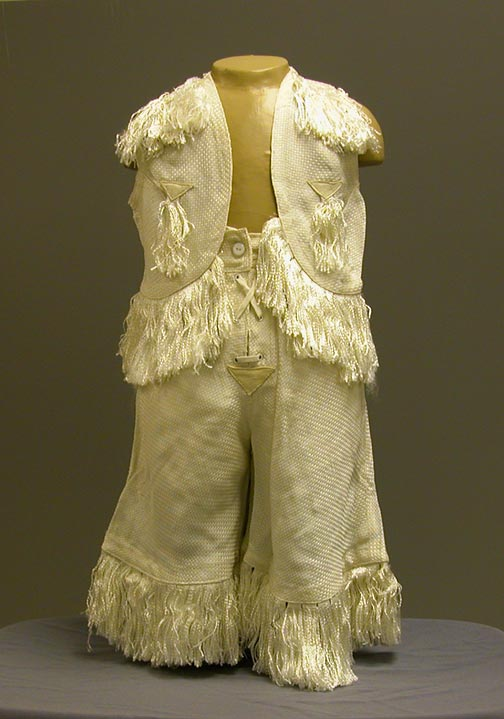 Child's White Horse Ranch costume NSHS 13063-3-(1-2)